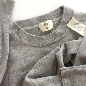 ARITZIA | WILFRED Soft Merino Wool Crop Sweater